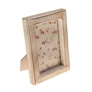 Marco para fotos retro de madera