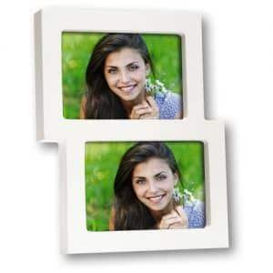 Portafotos múltiple para 2 fotos