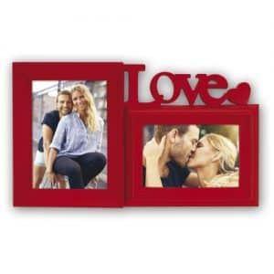 Marco de fotos de amor