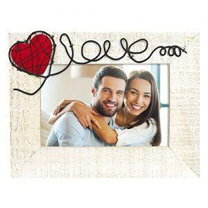 Marco de fotos de enamorados para regalo de san valentin