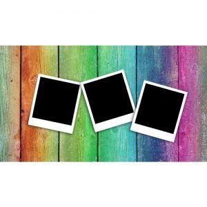 Marcos con fotos tipo polaroid gratis