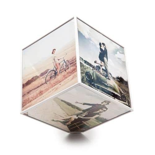 Marco original para fotos cubo giratorio