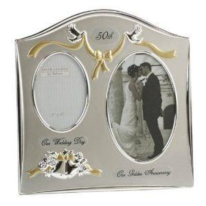 marco para fotos de bodas de oro