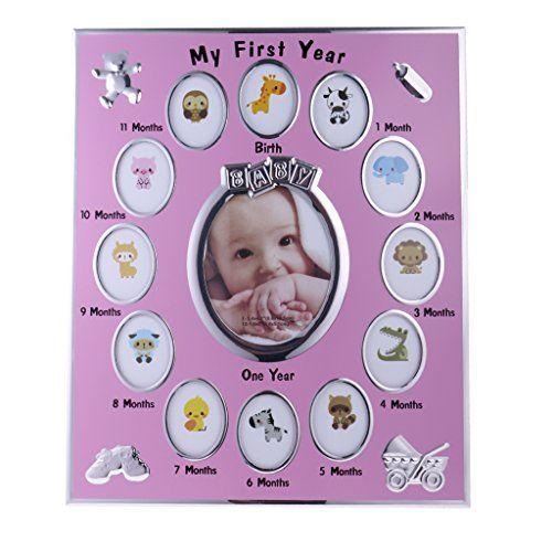 Marcos para fotos rosas mi primer año