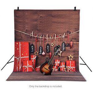 Telones de fondo para fotografía regalos de Navidad