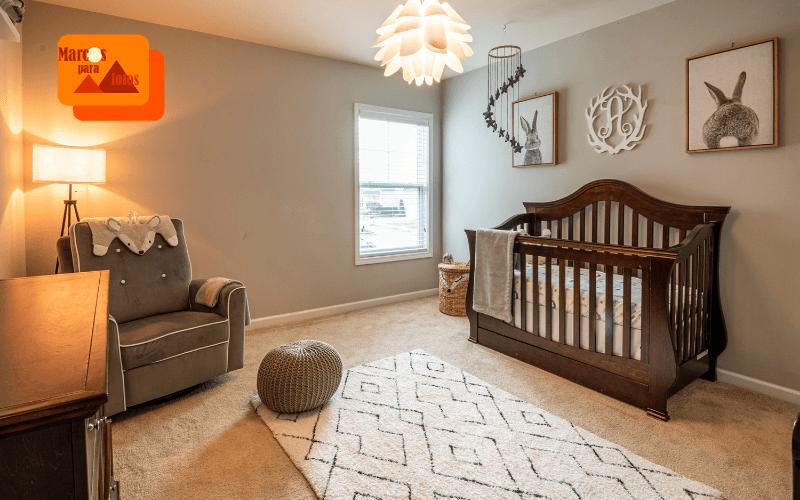 ideas interesantes para decorar el dormitorio de un bebe